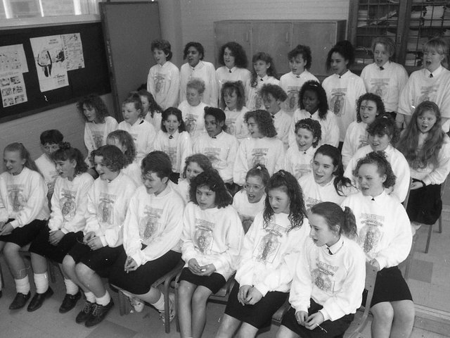 A Lancashire school choir is in fine voice and hoping to win a place to sing at a prestigious national festival. The choir from Christ the King High school, Preston, is taking part in auditions for the National Youth Festival for the first time. The choir is currently appearing on stage at the Guild Hall, Preston in Joseph and the Amazing Technicolor Dreamcoat - the eighth year that the school has provided the choir