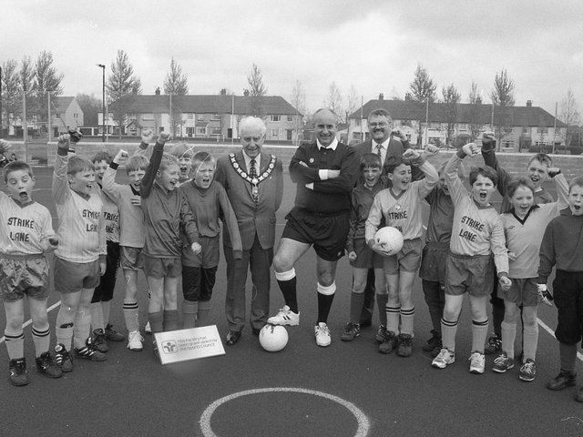 Football pitches opened in Freckleton