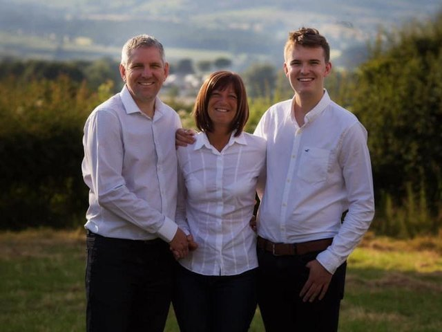 Ruth, Simon and Lewis Baxter