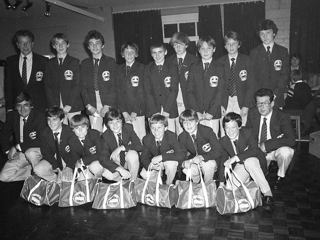 Fourteen members of the Poulton Youth Under 14 football club are going on a holiday of a lifetime. Their parents have raised almost £10,000 to send them on a seven match, two-week trip to California. In our picture, the Poulton team show off their tour uniforms