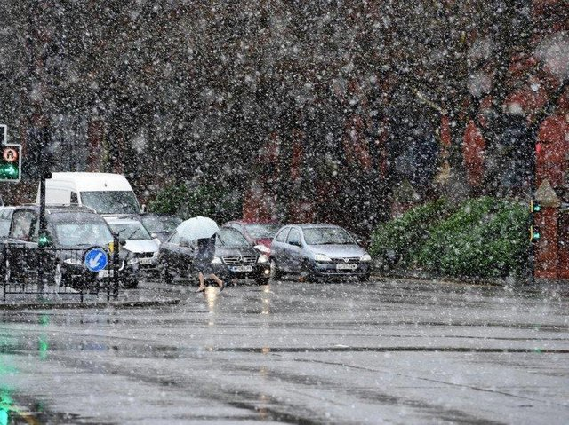 The yellow weather warning for snow and ice will now come into force from 8am on Wednesday (January 13).