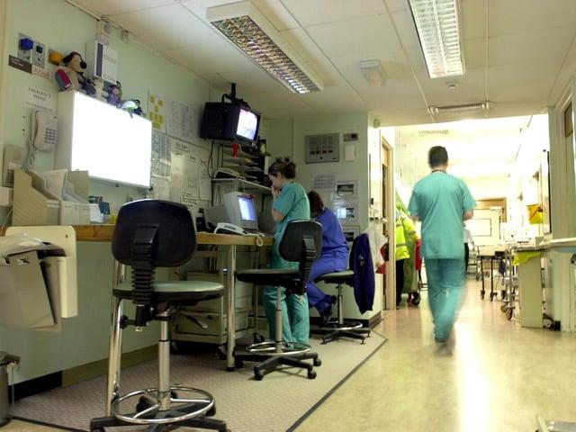 The Royal Preston Hospital is facing an unprecedented beds crisis