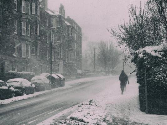 1-3cm of snow could accumulate at low levels.