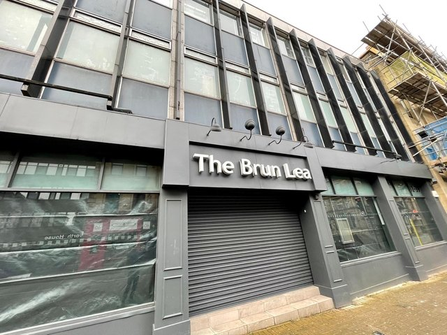 The Brun Lea building in Manchester Road, Burnley