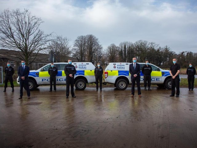 The launch of the new rural police teams