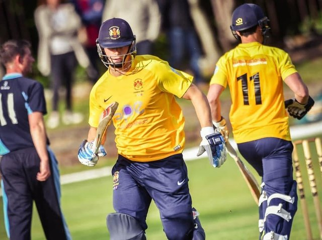 Ben Heap clocks up the runs for the West Enders