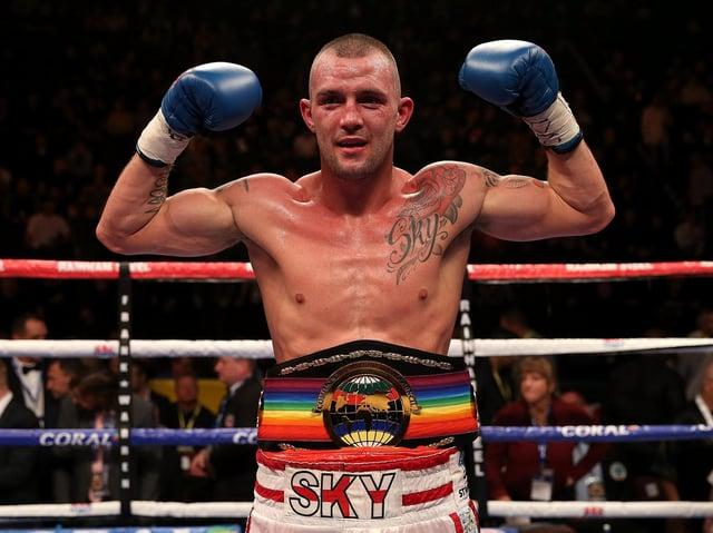 Clitheroe boxer Luke Blackledge