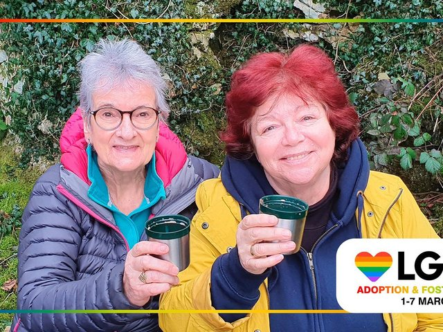 Dianne and Bev say they wish they'd started fostering years earlier