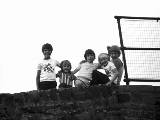 Do you know any of the boys in this photograph taken in Burnley in the summer of 1976?