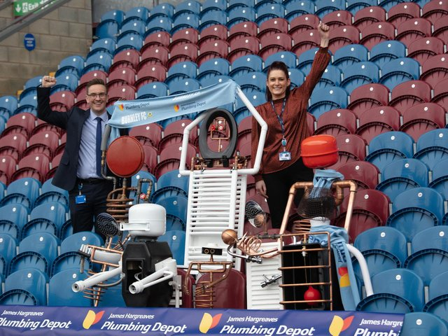 The new 'fans' at Turf Moor