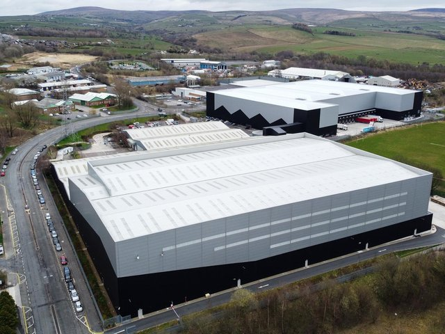 Boohoo is located on Heasandford Industrial Estate in Widow Hill Road, Burnley.