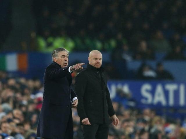 Carlo Ancelotti and Sean Dyche