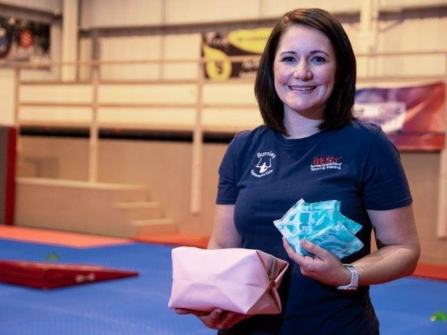 Sam Wright, the founder of the Female Health and Hygiene Project has donated 13,500 'period pamper packs' to Burnley Together.