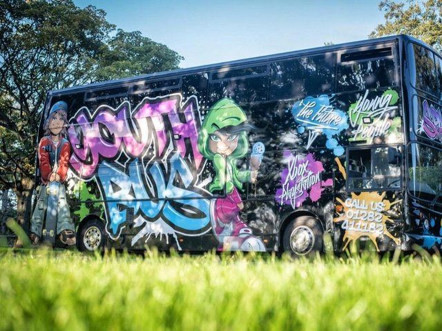 The Space Youth Bus is ready to go back on the road in Burnley and Padiham in June
