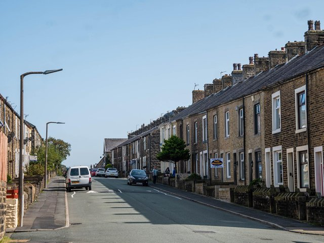 Houses in Colne's Horsfield ward