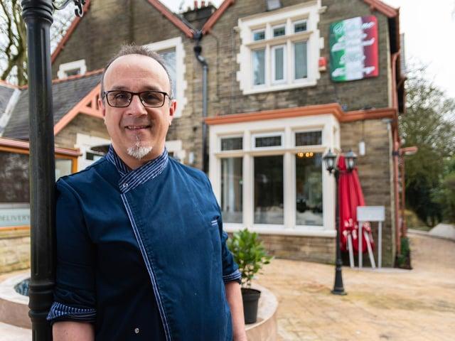 Antonio Vetrano has accomplished his dream to open his own restaurant, Vetrano in Padiham