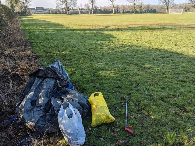 The competition is designed to encourage young people and adults to keep Clitheroe tidy of rubbish