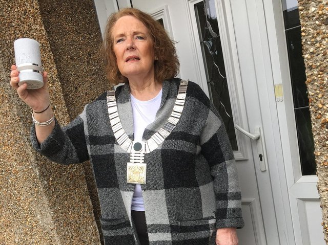 Ribble Valley Mayor Coun. Stella Brunskill is ready to pay tribute to people who died from Covid-19