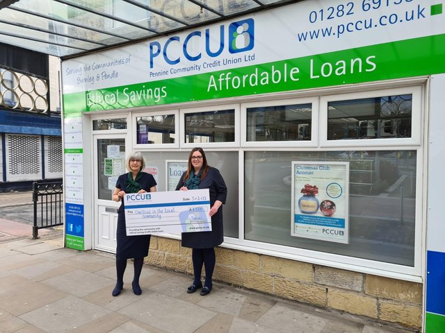 PCCU chief executive officer Kathryn Fogg with Deborah Smith-Hands, chief operating officer.