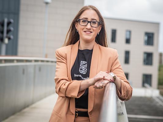 Burnley Brand Manager Rachel Bayley