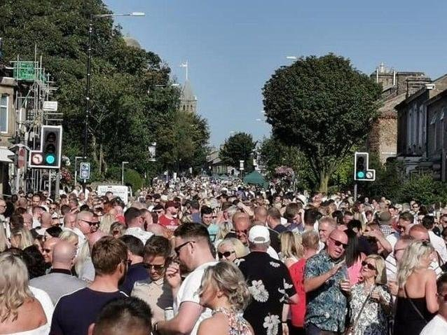 Crowds at a previous festival