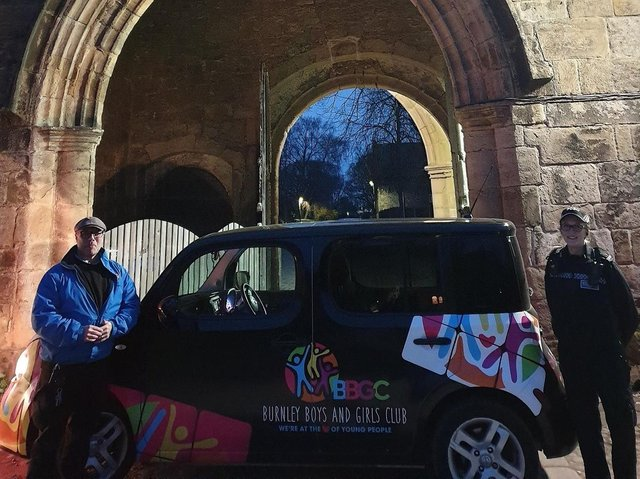 Exciting times ahead as the countdown begins to the launch of a new youth club at Whalley Abbey