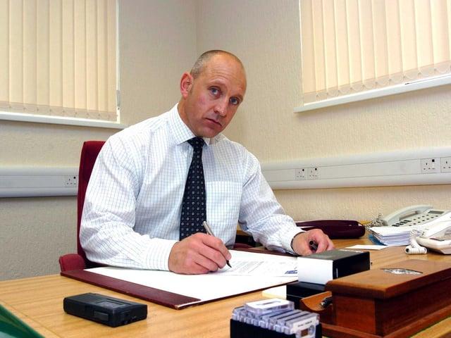 New governor of HMP Kirkham Steve Lawrence