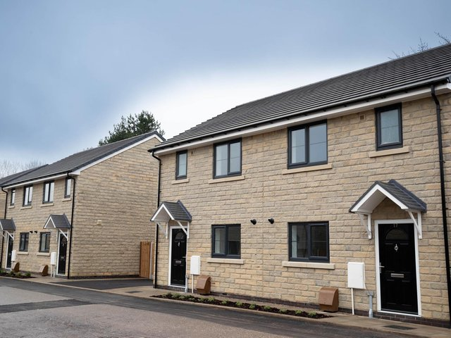 A Calico showhome in Padiham