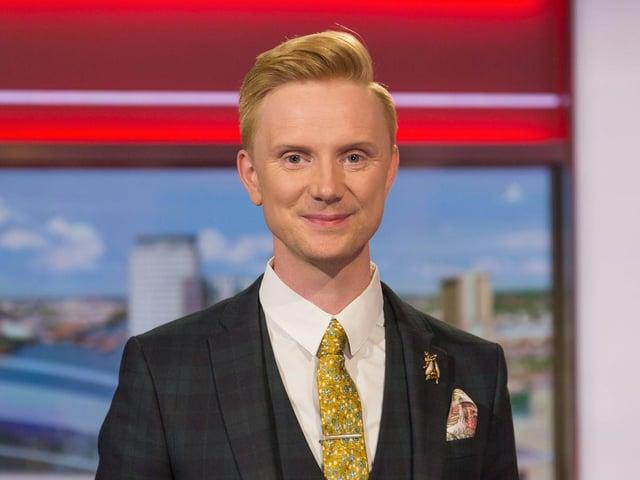 BBC North West Tonight's Owain Wyn Evans