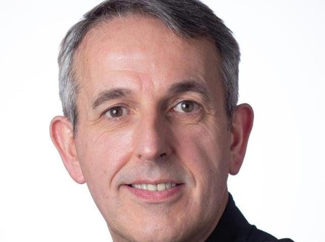 Lancashire Constabulary's new Chief Constable Chris Rowley