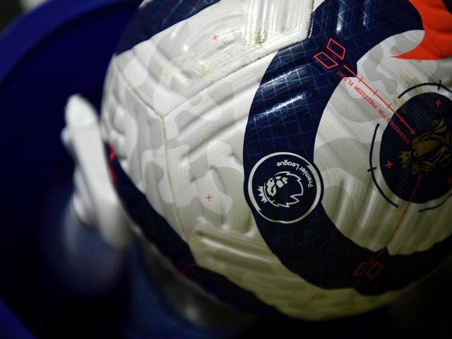 The Premier League matchball