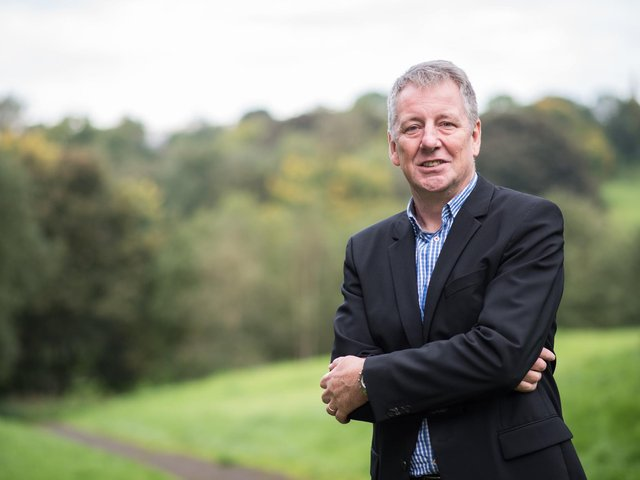Burnley Council leader Mark Townsend