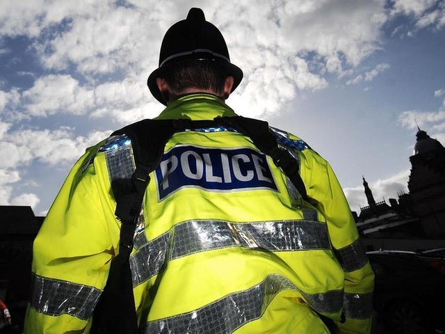Police officers had attempted to stop the motorist in Burnley Road, Colne.