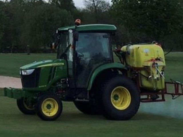 The tractor was stolen from Whalley Golf Club