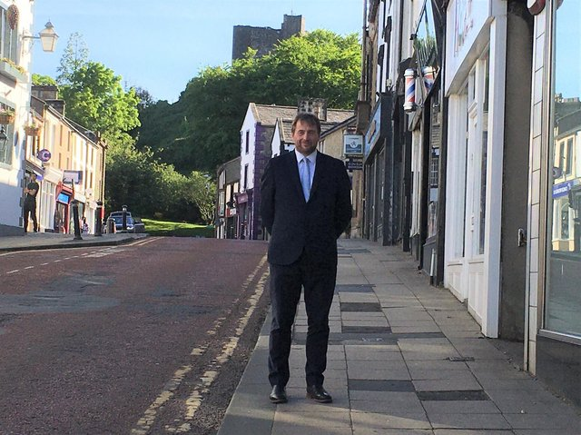 RVBC Leader Stephen Atkinson delighted businesses are ready to reopen today