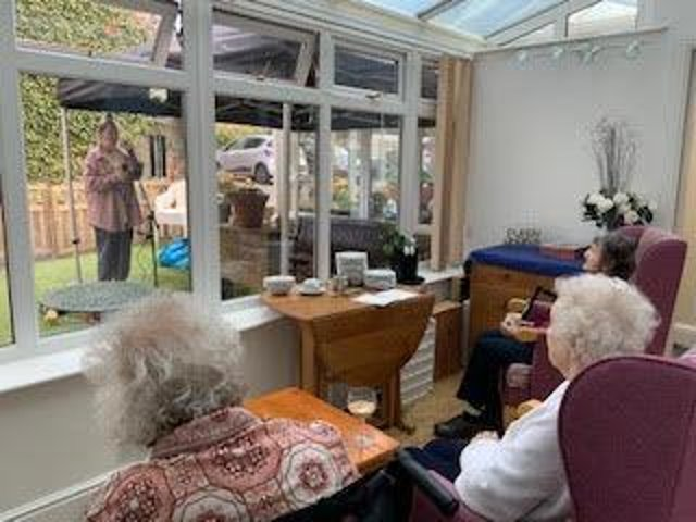 Easter eggstravaganza enjoyed by the residents