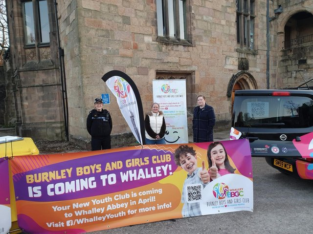 The youth club officially opened yesterday evening