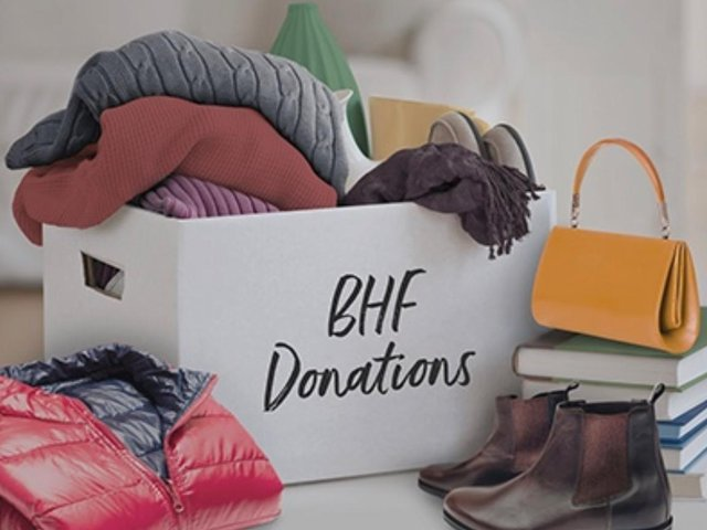 Do you have any items around the house you could donate to the British Heart Foundation?