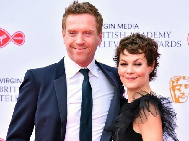 Damian Lewis and his late wife Helen McCrory