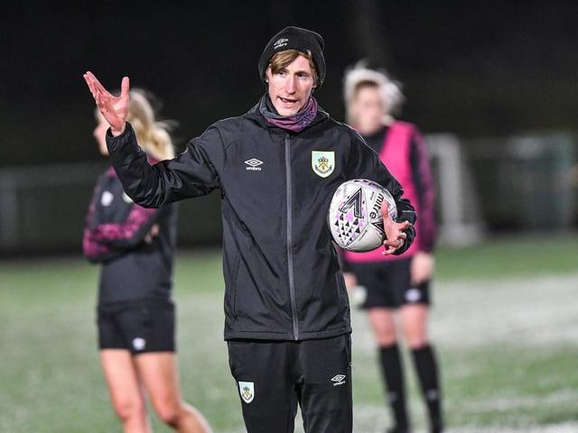 Burnley FC Women's boss Matt Bee