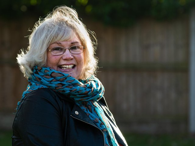Home is where the heart is for Sue Plunkett and that's right here in Burnley