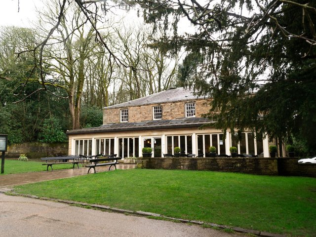 The Old Stables Café in Towneley Park