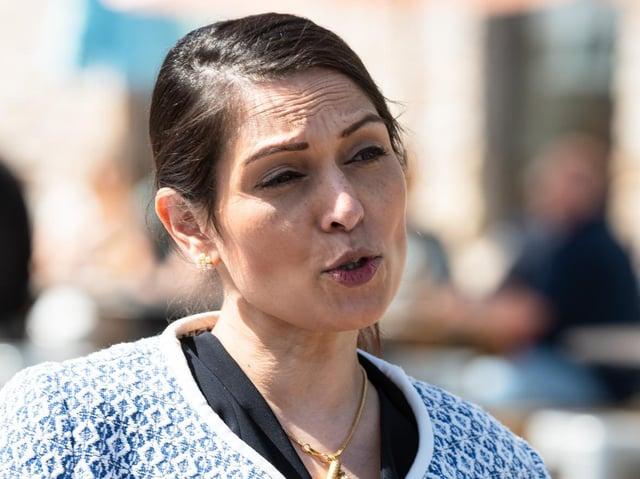 Home Secretary Priti Patel is unapologetic about cutting crime
