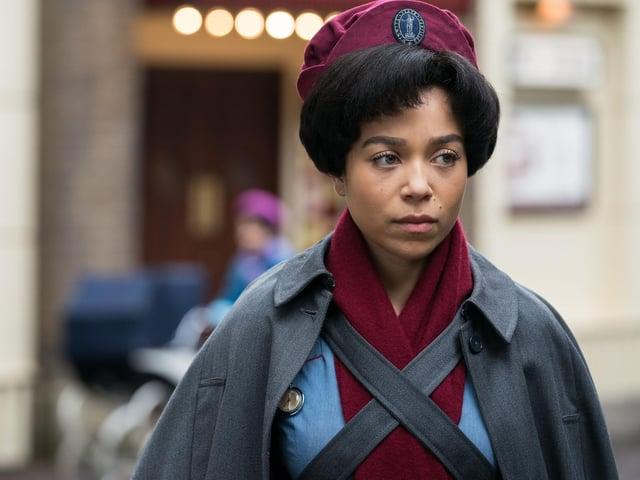Leonie Elliott stars as Nurse Lucille in Call The Midwife