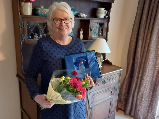 Volunteer of the Year Kathy Webb