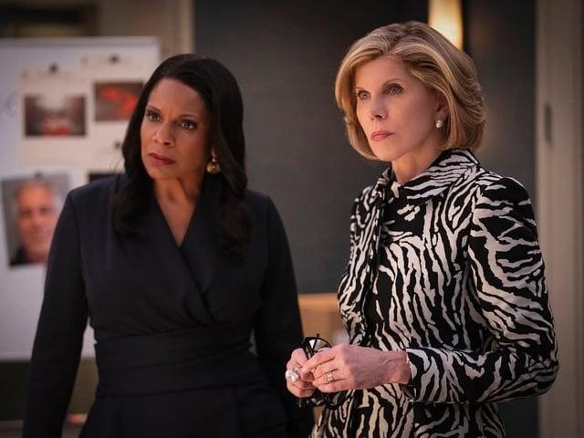 Audra McDonald and Christine Baranski star in US drama The Good Fight