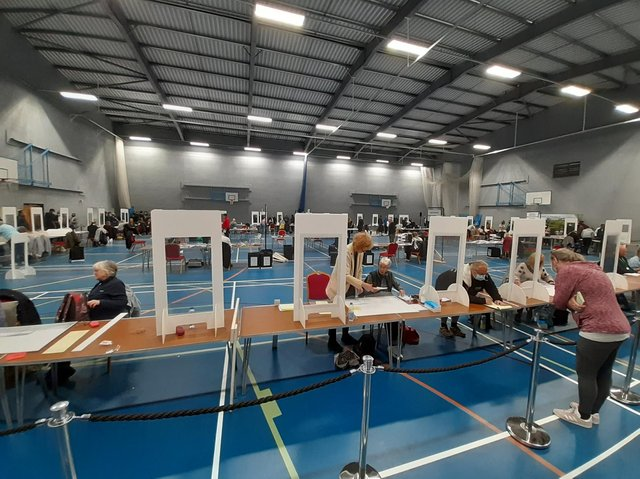 The count took place at Nelson and Colne College