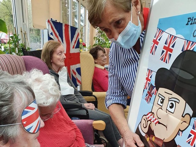 A day of fun, games and entertainment was enjoyed by the residents