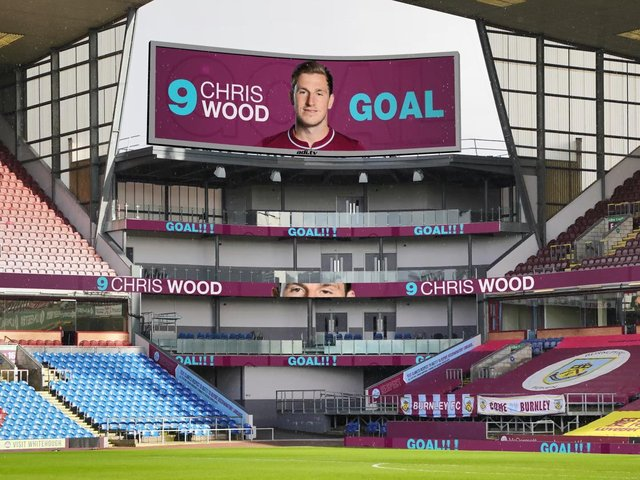 How the new LED screen at Turf Moor could look