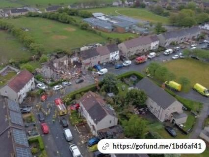 A go fund me page has been launched to help residents of Mallowdale Avenue in Heysham after a deadly suspected gas explosion rocked the street.